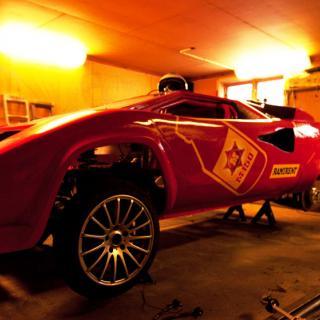 Bentley på is i 330 km/h