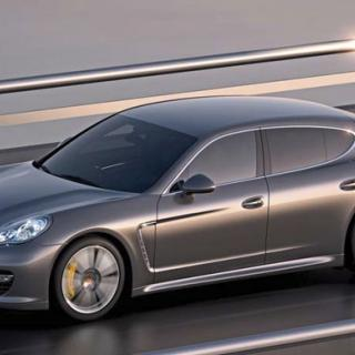Porsche visar ny Panamera i Paris