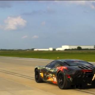 Hennessey Venom Spider GT på bänken