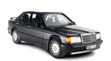 Cosworth-motor, spoiler, vinge och kjolar - och den var flera år före BMW M3!