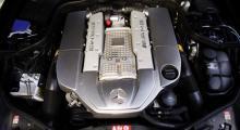 Must, märg och mäktig kratutveckling. Kompressorladdningen ser till att V8-motorn pressar ur sig 476 hästkrafter.