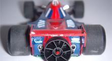 Brabham-Alfa BT46 Fan Car 1978 (Minichamps). Vinnare av Anderstorps GP med Niki Lauda.