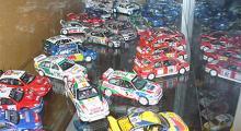 WRC-bilar i skala 1:43.
