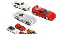 Allt mellan MGB GT och Ferrari F40 - samt Mercedes W196!