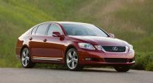 Lexus GS idag.