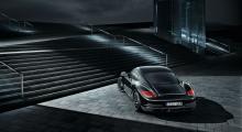 Porsche Cayman S får svart kostym