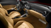 Stilen är bekant från andra Ferrari, gott så.