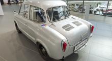 Banpreppad NSU Prinz 30, allt en F1-bil inte är.