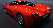 Renderingar av Ferrari F70