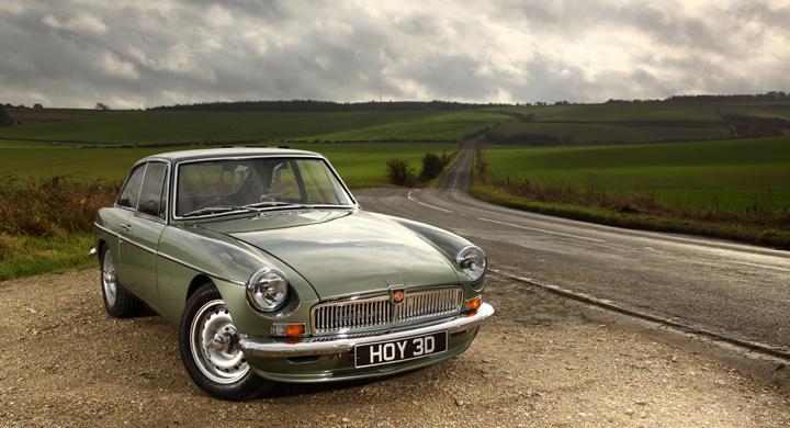 S ska en modern mgb se ut automobil for British motor heritage mgb
