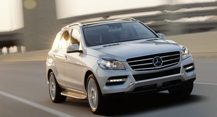 Bildspel Mercedes ML 2011
