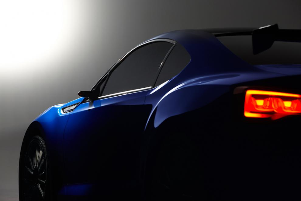 Bildspel: Subaru BRZ STI Concept - Nu visas hela bilen