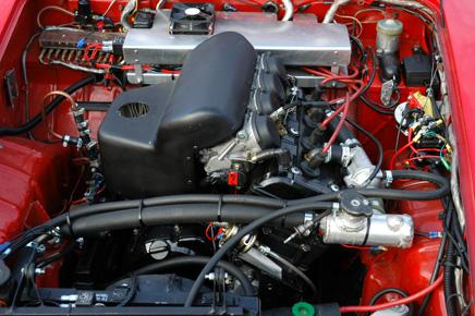 mc motor i bil