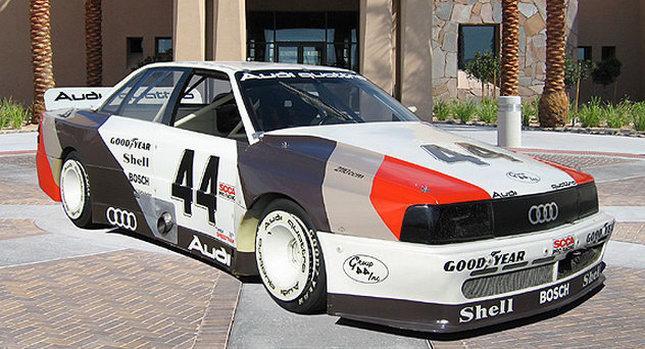 Ge mig TransAm-originalet Audi 200 Turbo Quattro tack!