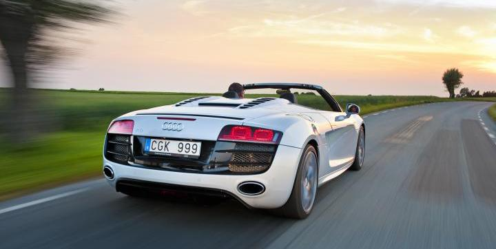 VIDEO: Audi R8 i A-sprint