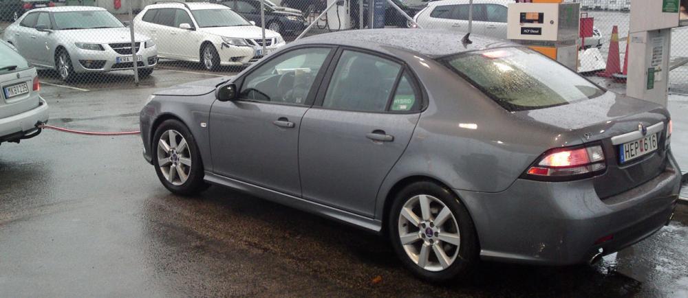 SCOOP: Här är Saabs dieselhybrid
