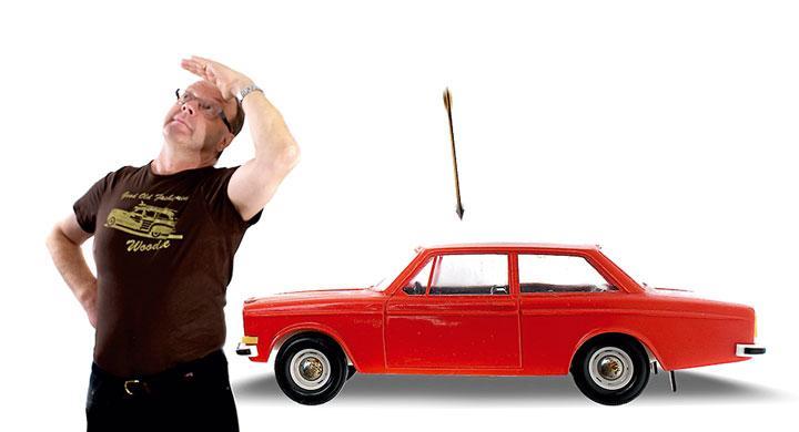 Pilbågen, Volvon och jag