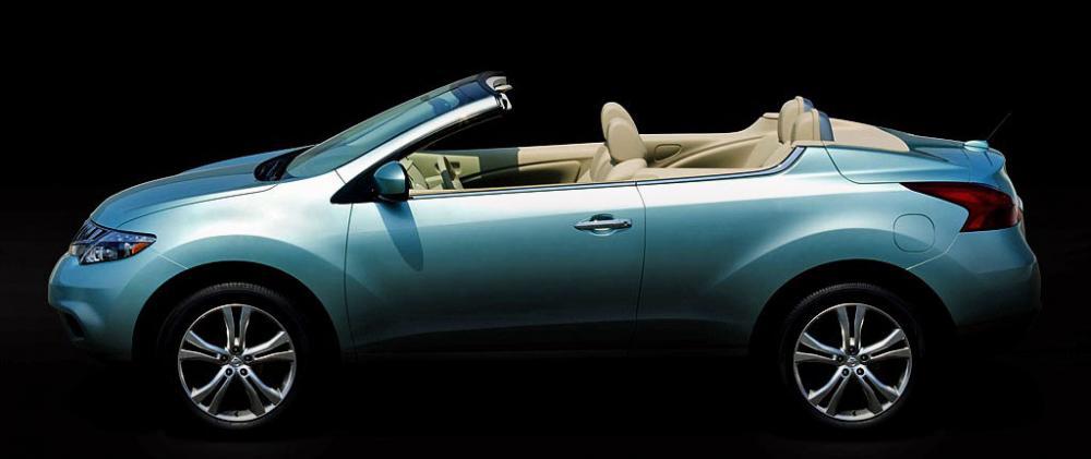 Nissans Murano cab – på riktigt!