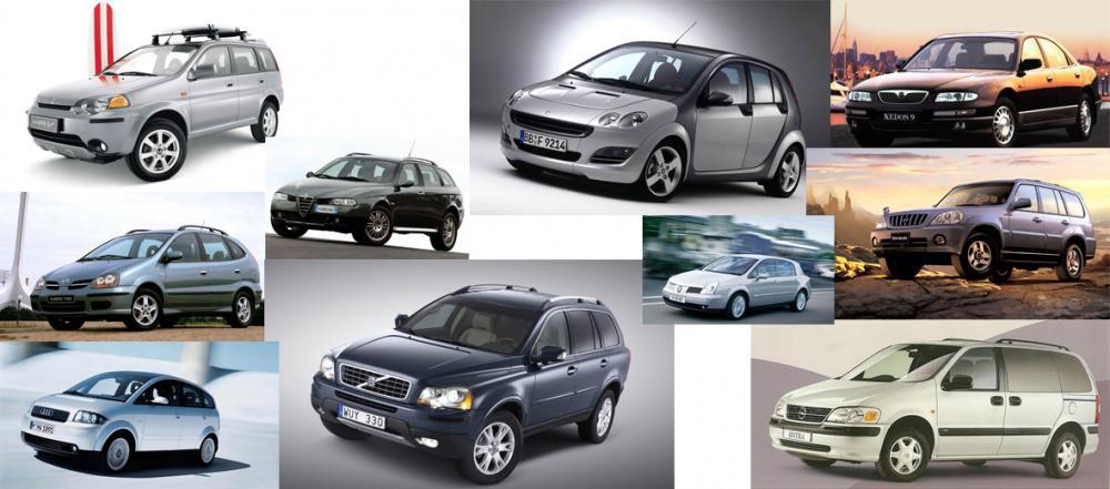 LISTA: 10 bilar utan efterträdare