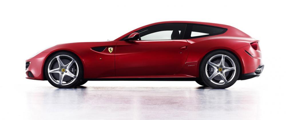 Fräna familjebilen Ferrari FF