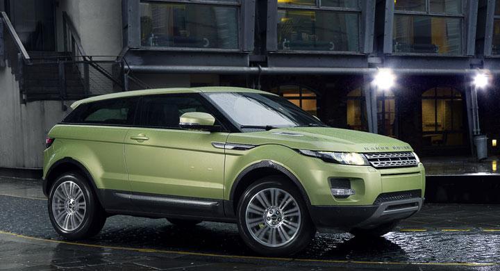 Range Rover Evoque prissatt