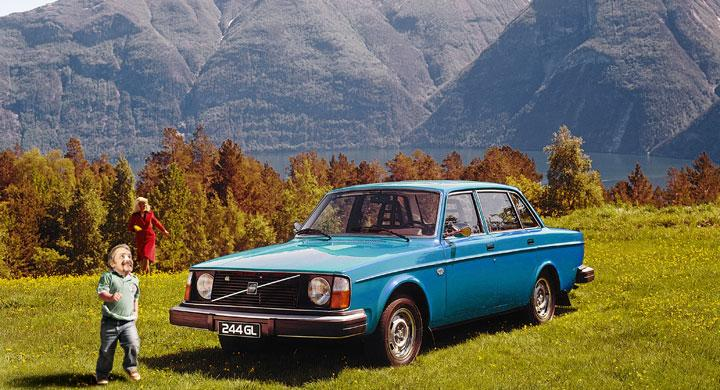 Gröna vågens Volvo
