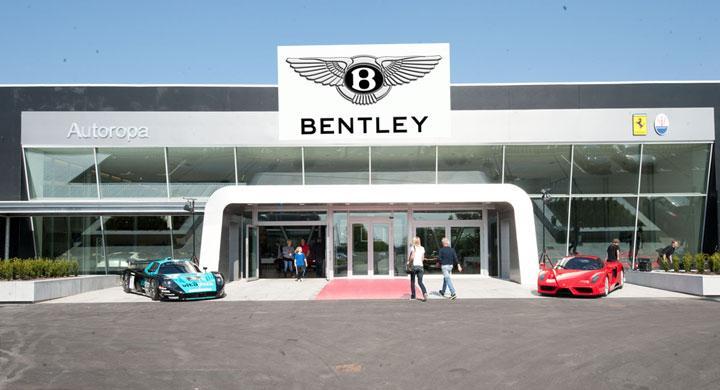 Autoropa utökar med Bentley