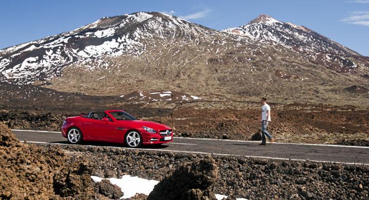 Mercedes SLK 350: Teneriffic