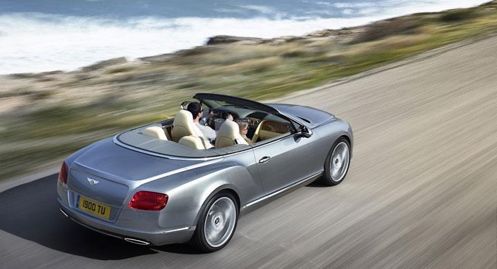 Bentley Continental GTC i ny form