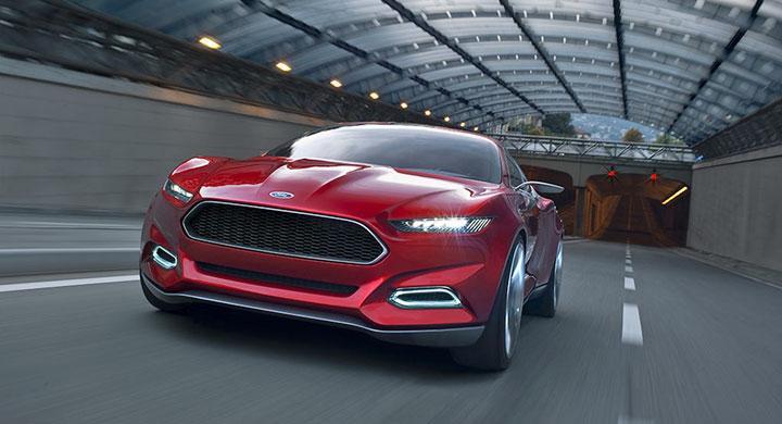 Ford Evos Concept visar vägen