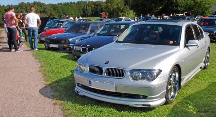 BMW-träff i Eskilstuna