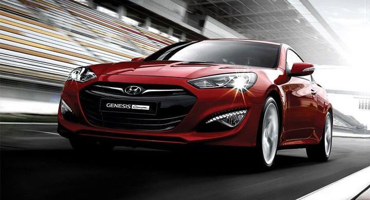 Hyundai Genesis Coupe: nya bilder