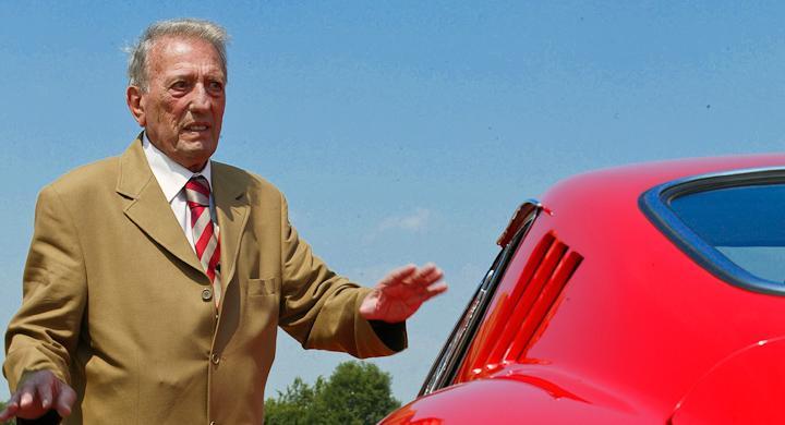 Sergio Scaglietti – Ferraris karossbyggare död