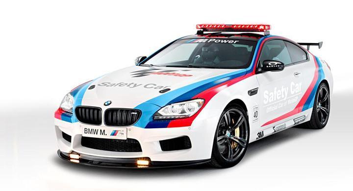 BMW M6 blir Safety Car