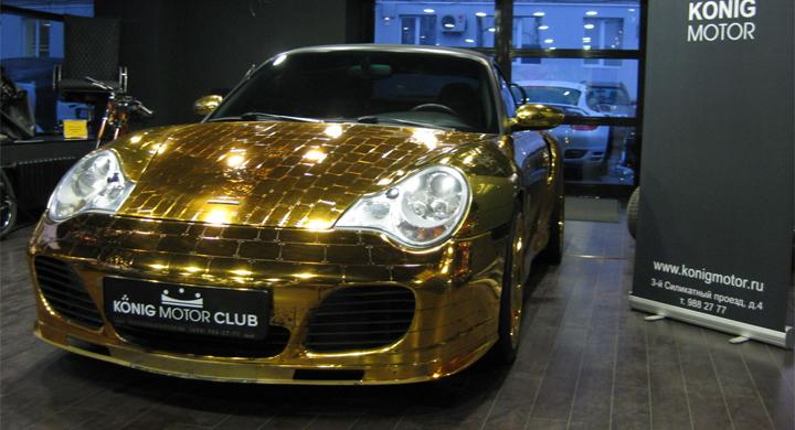 Porsche Turbo Bling-Bling Edition