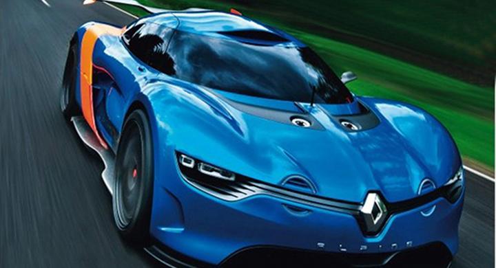 Läckt bild på Renault Alpine