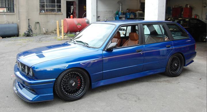V 228 Rldens Enda Bmw E30 M3 Kombi Automobil