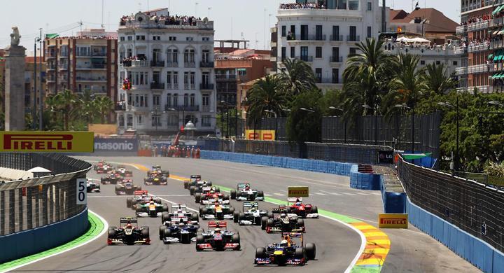 Resultat från Spaniens F1
