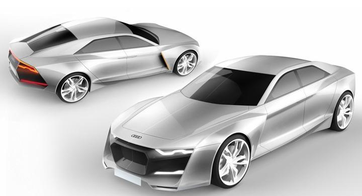 Koncept: Audi R9 Concept
