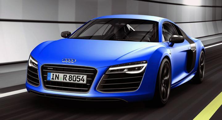 Audi R8 får ansiktslyft – ny V10 Plus