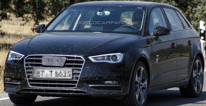 Audi A3 Sportback till Paris