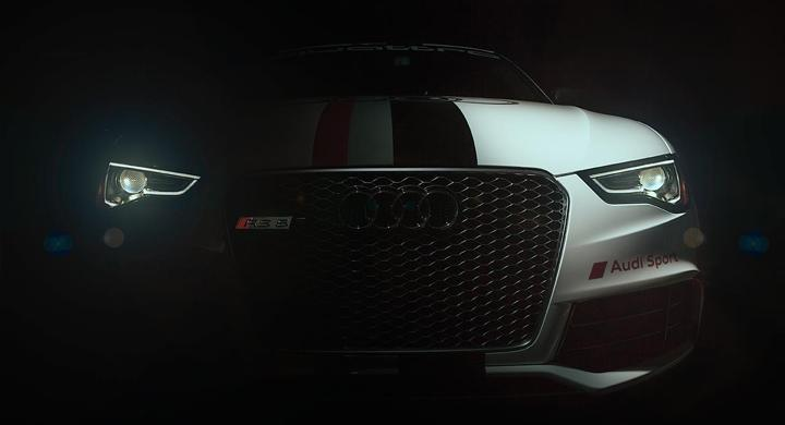 Teaser: Audi RS5
